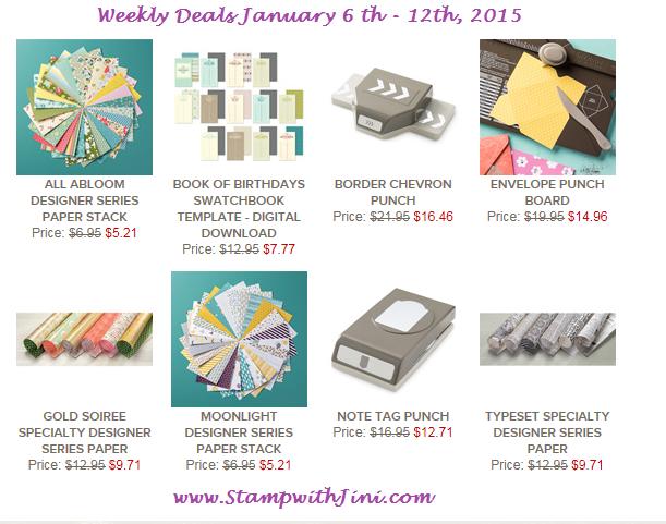 Weekly Deals Jan 6 2015