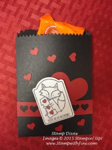 Hey Valentine Mini Treat Bag