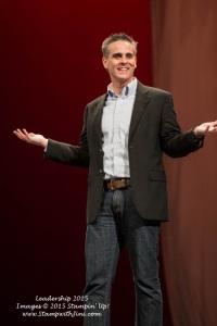 Jason Wright Keynote speaker Leadership 2015