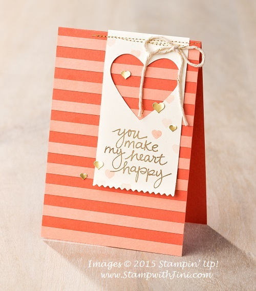 Lovely Amazing You card sample