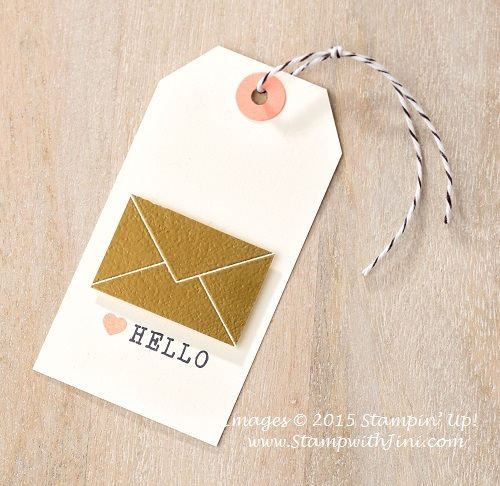 Lovely Amazing You tag sample