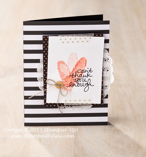 Lovely Amazing you card sample 3