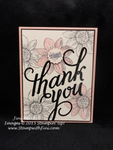Petal Potpourri and Another Thank You