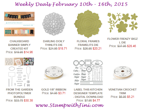 Weekly Deals Feb 10 2015