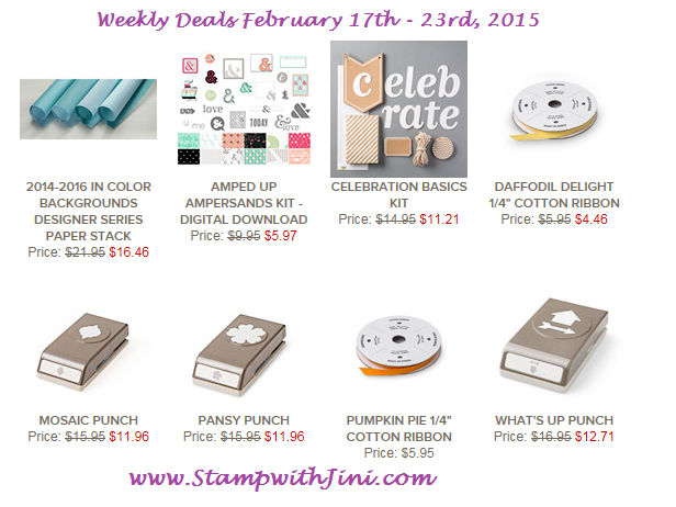 Weekly Deals Feb 17 2015