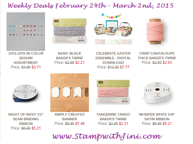 Weekly Deals Feb 24 2015