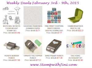 Weekly Deals Feb 3 2015
