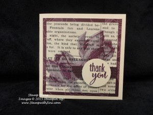 Lotus Blossoms Stamp Divas Project