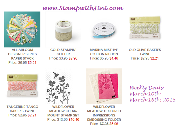 Weekly Deals March 10 2015