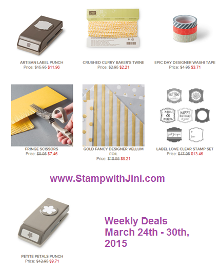 Weekly Deals March 24 2015