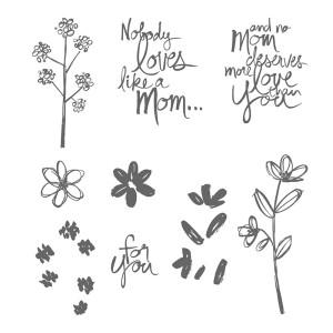 Mother's Love stamp set image