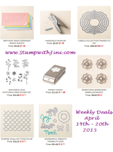 Weekly Deals April 14 2015