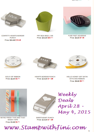 Weekly Deals April 28 2015