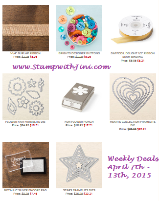 Weekly Deals April 7 2015