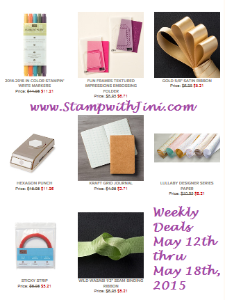 Weekly Deals May 12 2015