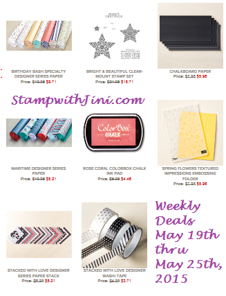 Weekly Deals May 19 2015