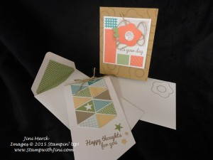 Paper Pumpkin Happy Thoughts June kit 2015