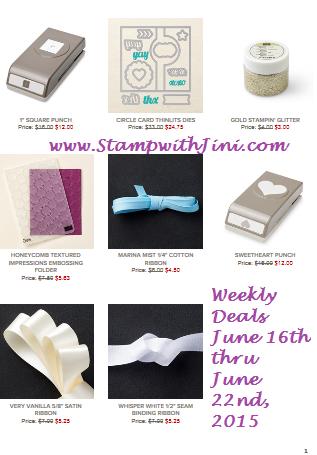 Weekly Deals 16 2015