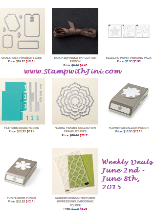 Weekly Deals June 2 2015