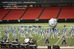 Seattle Cascades DCI 2015 Atlanta Dome