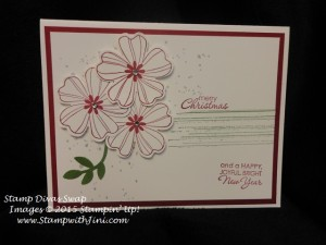 Stamp Divas July Swaps 2015 Flower Shop