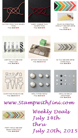 Weekly Deals July 14 2015
