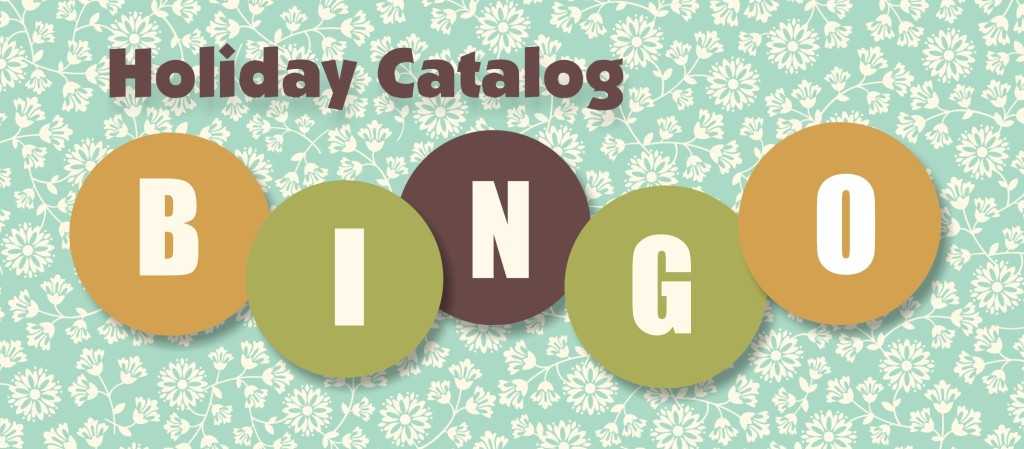 BINGO BANNER-Holiday Catalog