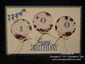 Celebrate Today Shaker card (1)