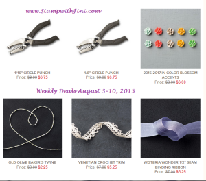 Weekly Deals August 4 2015