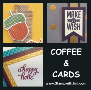 Coffee & Cards September 2015 Image