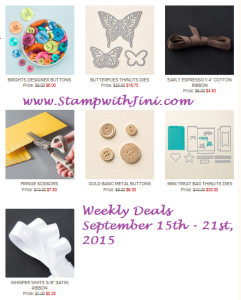 Weekly Deals September 15 2015