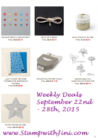 Weekly Deals September 22 2015