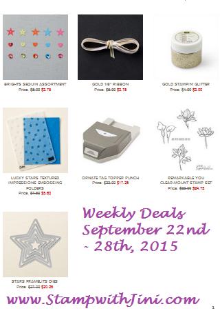 Weekly Deals September 22 2015