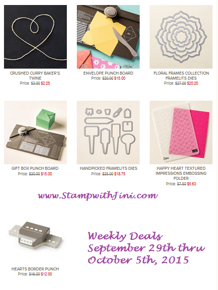 Weekly Deals September 29 2015