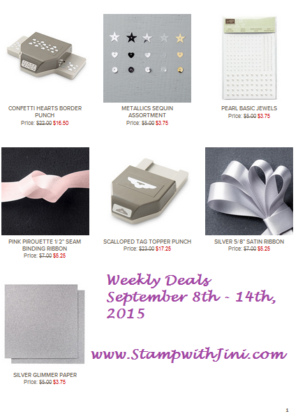 Weekly Deals September 8 2015