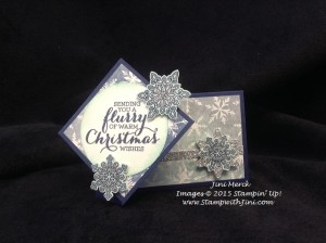 Flurry of Wishes Twisty Card Video Tutorial