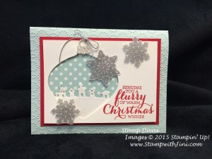Flurry of Wishes and Sleigh Ride Edgelits Dies Stamp Divas Shoebox Oct 2015 (6)