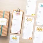 Tin Of Cards Perpetual Calendar Stamp Camp
