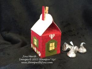 Baker's Box Gingerbread House