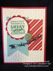 Cozy Christmas SC Holiday Catalog Swap 2015