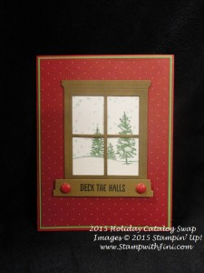 Happy Scenes SC Holiday Catalog Swap 2015