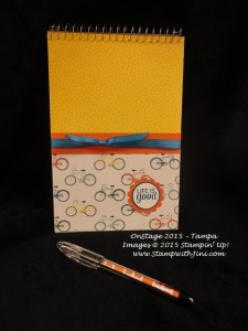 On Stage Tampa 2015 notebook set