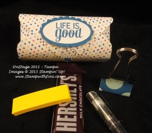 On Stage Tampa 2015 pillow gifts