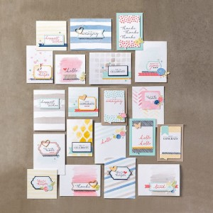 Watercolor Wishes Kit image