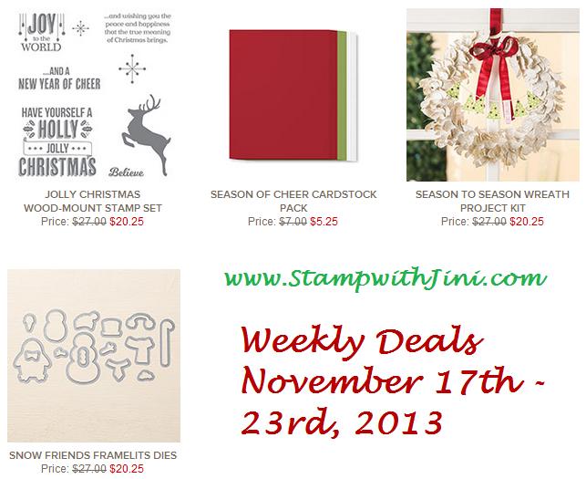 Weekly Deals November 17 2015