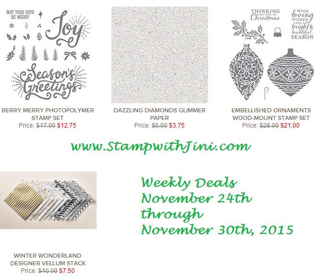 Weekly Deals November 24 2015