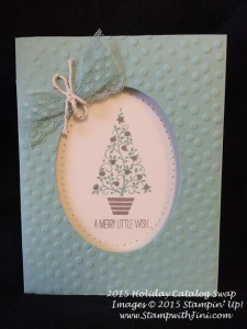 Festival of trees SC Holiday Catalog Swap 2015