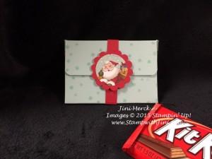 Home for Christmas Kit Kat Holder