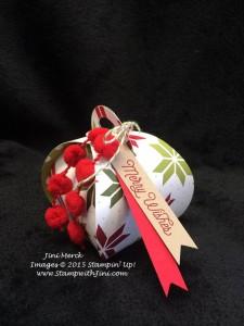 Merry Moments Curvy Keepsake Box