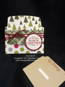 Oh What Fun Gift Card Holder (2)